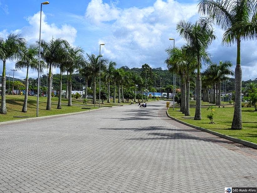Parque das Nações, em Criciúma -  Diário de bordo - Encontro Rota Sul em Santa Catarina