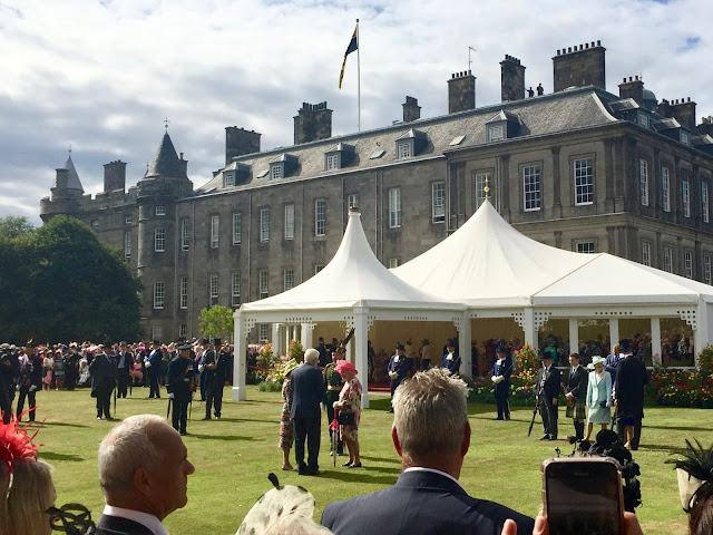 The Queen at Holyrood Palace, Royal Garden Party