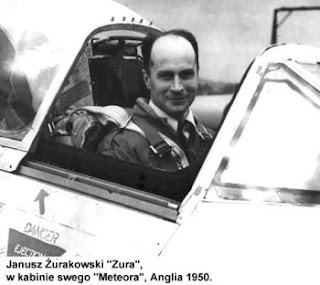 Janusz Zurakowski, famous Polish fighter (and test) pilot