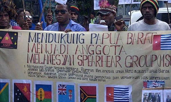 Dua Negara Ini Serukan Kemerdekaan Papua Barat
