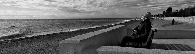 Морской пейзаж. Адлер. Панорама.