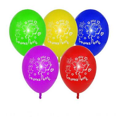 Воздушный шарик свинка Пепа