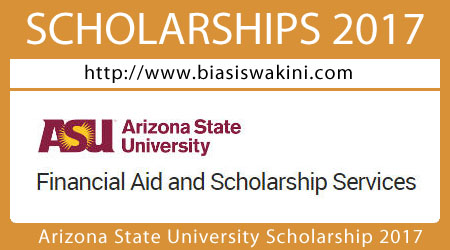 Arizona State University Scholarship 2017