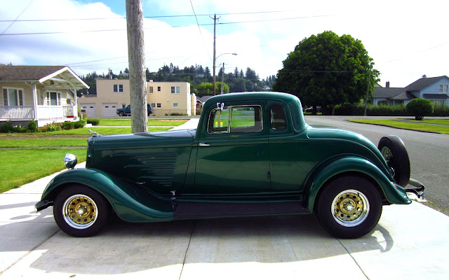 The Street Peep 1934 Dodge Coupe