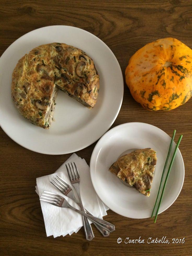 tortilla-portobello-champiñones-mesa