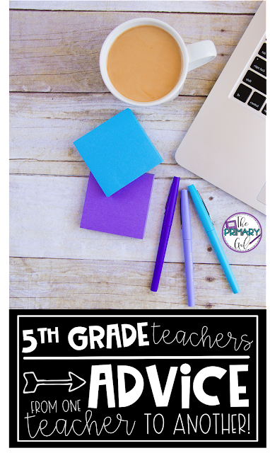 Teaching fifth grade is incredible and nerve wracking sometimes. Teachers needs to come together to share experiences and wisdom they've learned along the way. This blog post is a collection of ideas, inspiration, and stories to help calm your nerves and point you in the right direction as a 5th grade teacher. You and your students deserve it. {5th, fifth, elementary, ideas}