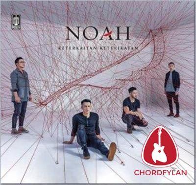 Lirik dan Chord Kunci Gitar Kupeluk Hatimu - Noah
