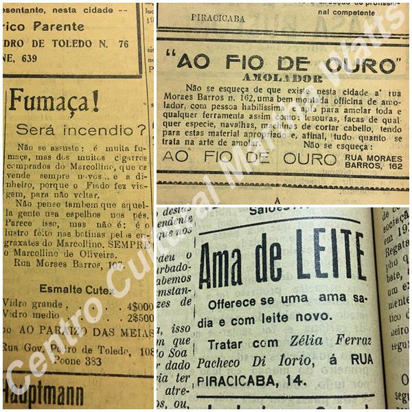 6936516553c ESPAÇO MEMÓRIA PIRACICABANA  Anúncios e propagandas antigas que não ...
