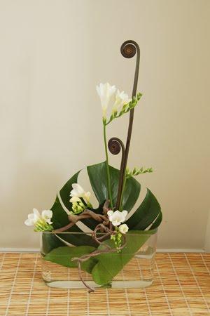 Petals Amp Paper Boutique Ikebana Arrangements