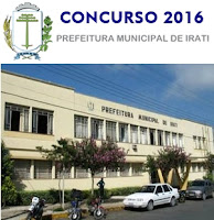Apostila Prefeitura de Irati PR 2016