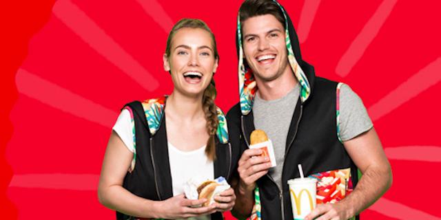 McDonalds lanzará una línea de ropa deportiva