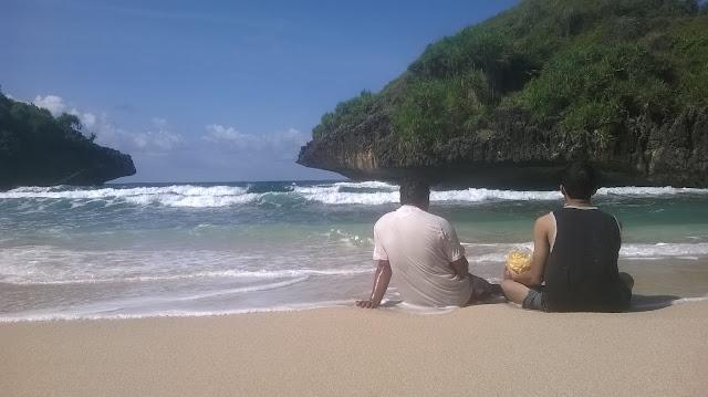 Petualangan Mbloogers | Pantai Sedahan, Serasa Milik Sendiri ( Seri Travelblog Part 4 )