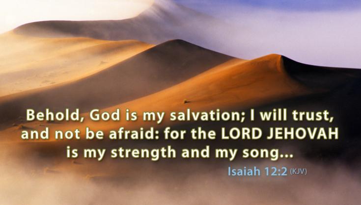 PRAY BIBLE PROMISES: ISAIAH (9)  
