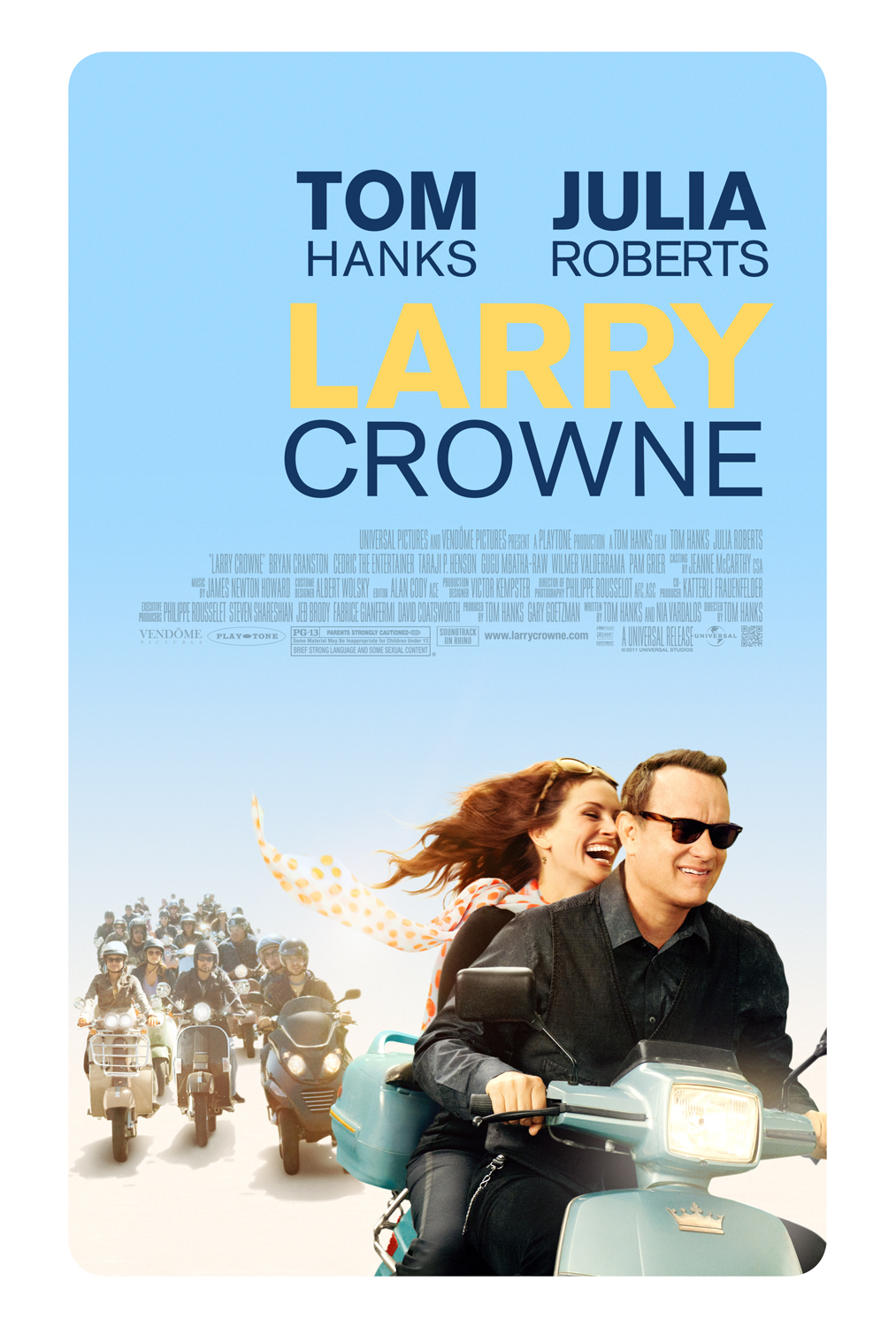 Draw Something Even More Reckless Posters For Larry Crowne Stereogum