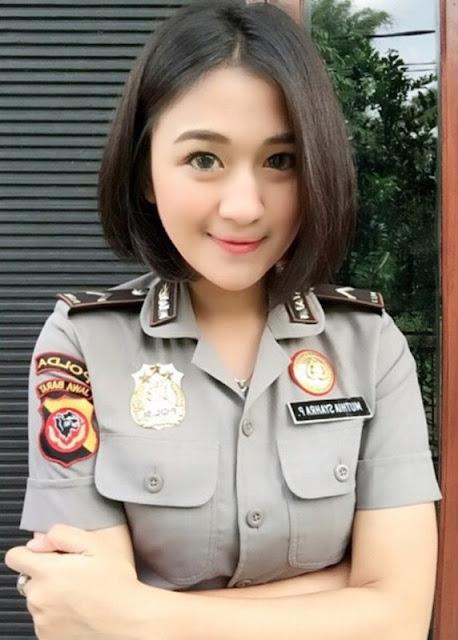 polwan indonesia cantik terbaru 2017