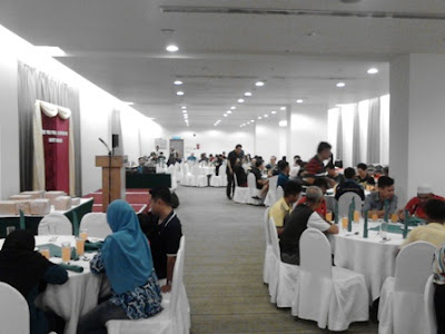 Dinner Buffet, Sibu Division (non-chinese) Open Table Tennis Championship 2017