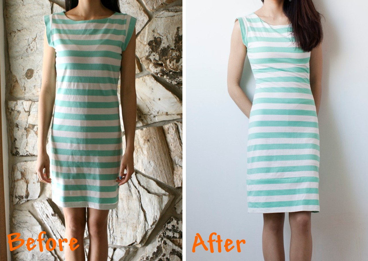 DIY: lengthen a short dress part two. | Life is Beautiful