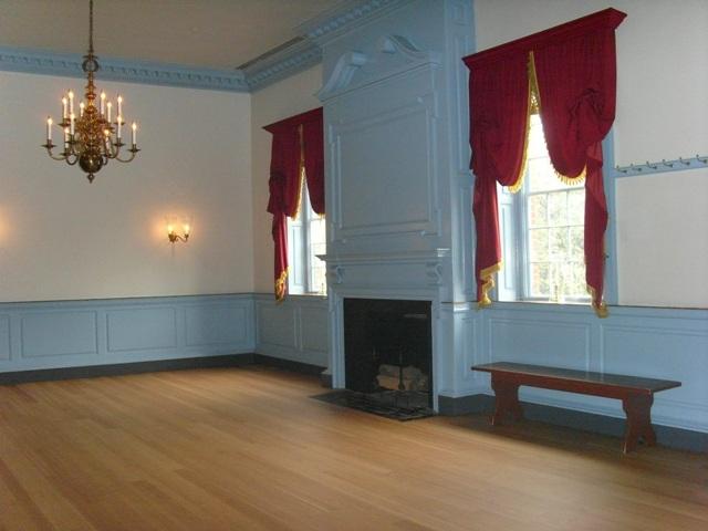 Ballroom at Gadsby's Tavern