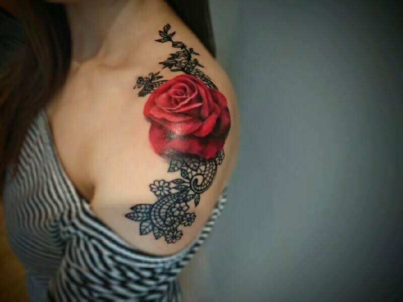 Tatuajes De Rosas Tattoos Of Roses Diseños Significado