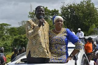 Aisha Jumwa to campaign for Mung'aro rather than AJK. PHOTO | Courtesy