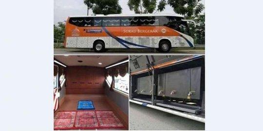 Ubah Bus Menjadi Mushola, Ibadah Sholat Di Negara Ini Menjadi Lebih Mudah