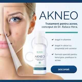 Comanda de aici crema antiacnee Akneo