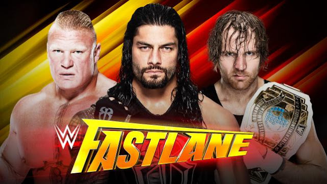 Lesner Roman Reigns Dean Ambrose Fastlane 2016 Live Stream