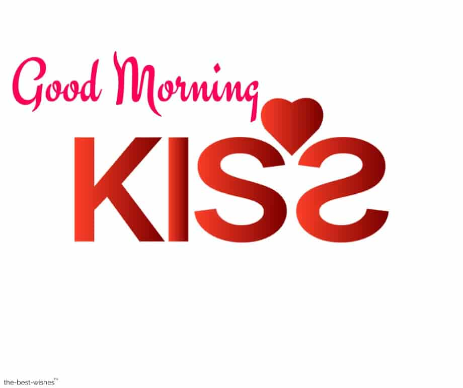 good morning kiss