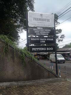 Farm House susu Lembang, Bandung.