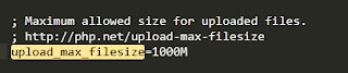 Cara Setting Ukuran Upload Max Image Php.ini