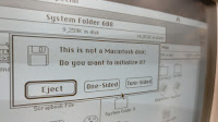 'This is not a Macintosh disk' error