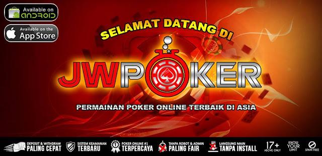 JWPOKER : Situs Poker Online | Domino QQ Terpercaya