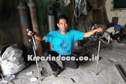 Handrail Kloset Stainless Pesanan Bu Lia Dari Surabaya