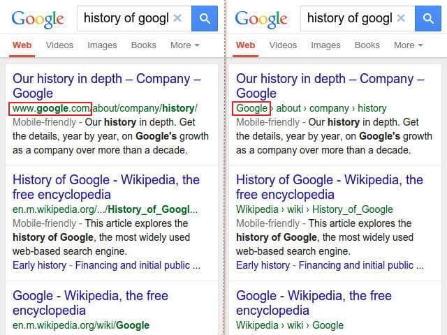Google 結構化資料標記:搜尋結果連結網址顯示階層式網站名稱_001
