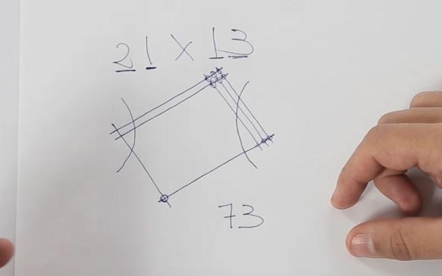 truco, multiplicar, sin, calculadora