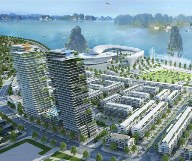 Mon Bay Hạ Long sở hữu địa thế sinh tài sinh lộc