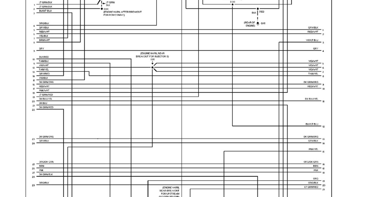 1997 Dodge Ram Wagon B3500 System Wiring Diagram 52l Engine