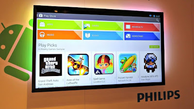 TV Philips con Android
