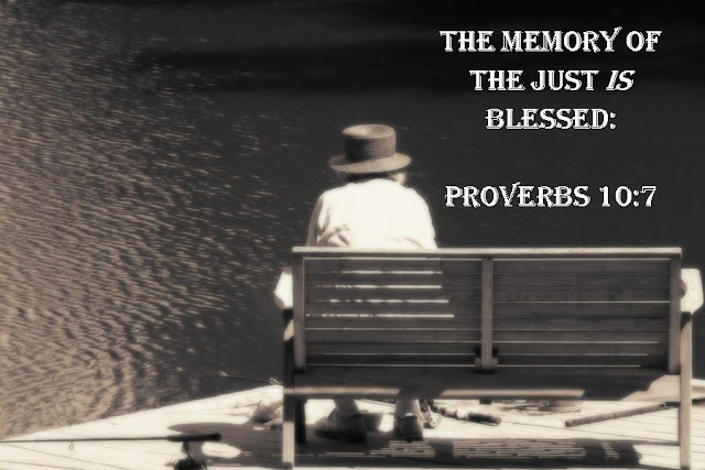 The memory of the righteous will be a blessing, but the name of the wicked will rot.