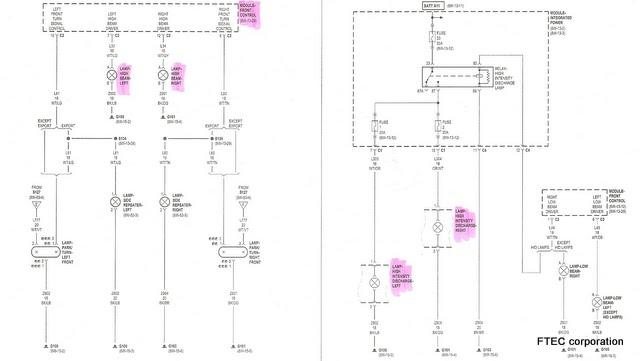 FTEC weblog: 300C SRT-8 のヘッドライト交換