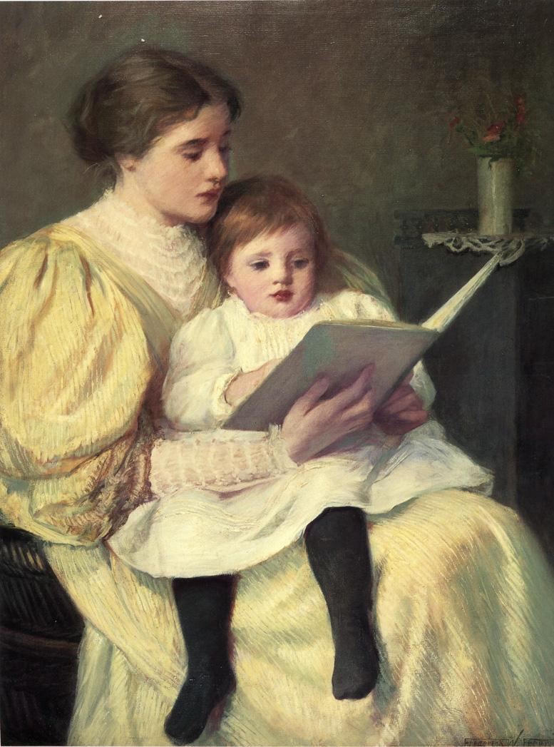 Tales Of Autumn Paintings Mother And Child