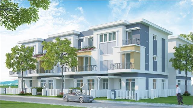 Nhà phố biệt thự Rosita Garden Khang Điền Quận 9