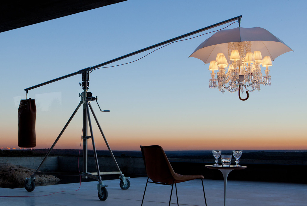 If It S Hip Here Archives Philippe Starck Gives A Modern Makeover To Baccarat Traditional Zenith Chandelier