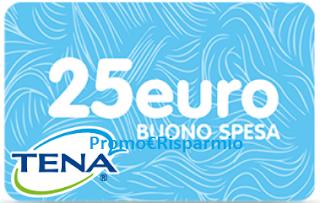 Logo Con Tena Lady vinci ben 1.200 buoni spesa da 25 euro