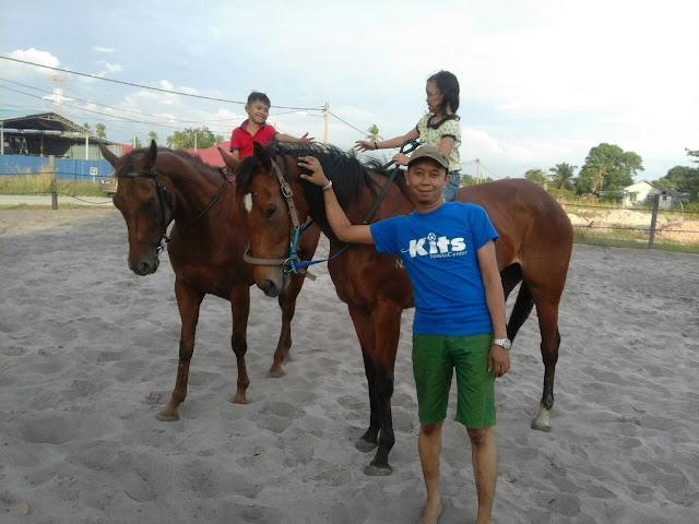 Aktiviti Berkuda di Kampung Penchalang || Hanna 3