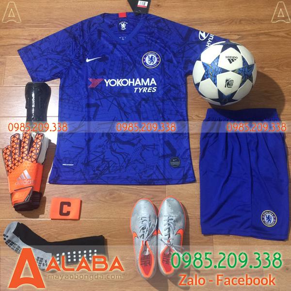 Áo CLB Chelsea 2019 2020 Màu Xanh Dương Đậm