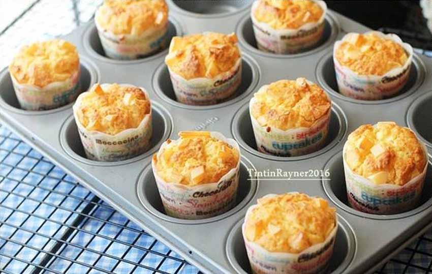 Resep Cheese Custard Muffin The Best Cheese Muffin Pokoknya EVER Bund