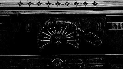 Wurlitzer Jukebox outline