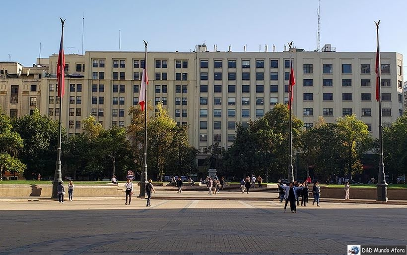 Plaza de la Constituicion - o que fazer em Santiago