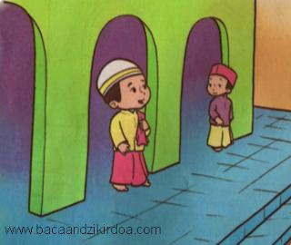 Bacaan Doa Masuk dan Keluar Masjid Arab Latin dan Terjemahannya